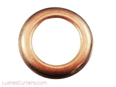 Curtain Drapery Copper Oxide Grommets Eyelet #12 Inner Diameter 1-9/16 Pack of