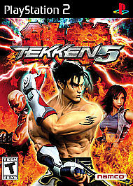 Tekken 5 - PlayStation 2, Good PlayStation2, Playstation 2 Video Games