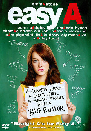 Easy A, Good DVD, Emma Stone, Stanley Tucci, Will Gluck