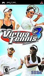Virtua Tennis 3 - Sony PSP, Good Sony PSP, Sony PSP Video Games