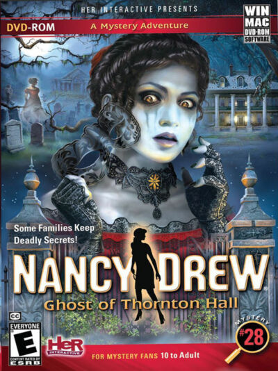 Nancy Drew: Ghost of Thornton Hall - PC/Mac, Excellent Windows, Windows XP, Mac