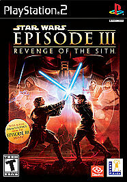 Star Wars Episode III Revenge of the Sith - PlayStation 2, Good PlayStation2, Pl