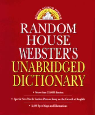 Random House Webster's Unabridged Dictionary : Indexed