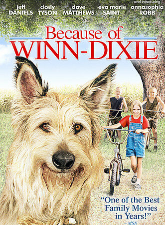 Because of Winn-Dixie, Good DVD, AnnaSophia Robb, Jeff Daniels, Eva Marie Saint,