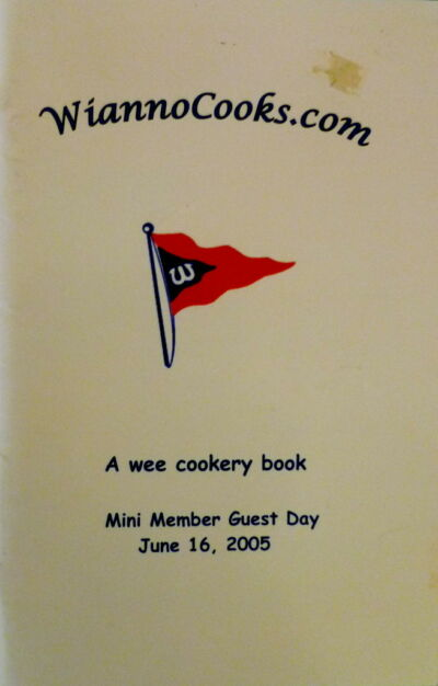 WIANNO COOKS KIDS COMMUNITY COOKBOOK wee cookery book Wianno Club Massachusetts