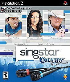 SingStar Country with microphone - PlayStation 2