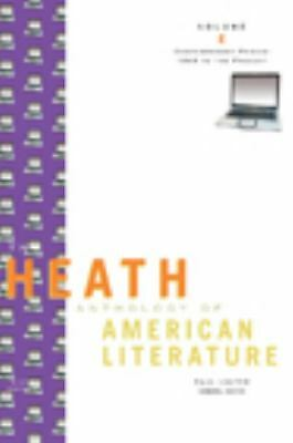 The Heath Anthology of American Literature: Contemporary Period (1945 To The Pre