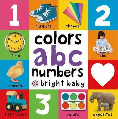 Big Board Books Colors, ABC, Numbers (Bright Baby): Roger Priddy