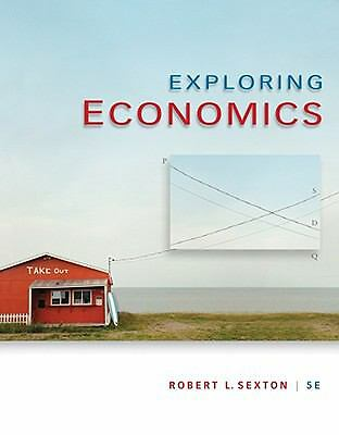 Exploring Economics, Sexton, Robert L., Good Book