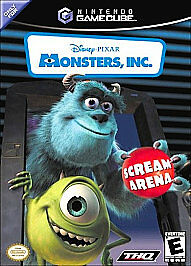 Monsters Inc. Scream Arena, Acceptable GameCube Video Games