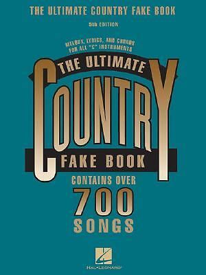 The Ultimate Country Fake Book: C Instruments (Fake Books), , Good Book