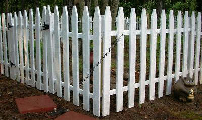 GARDEN FENCE Paper Plans EASY DIY PATTERNS Build Your Own Civil War Picket Style