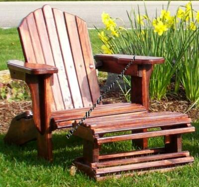 ADIRONDACK CHAIR W/ FOOT REST Paper Plans EASY DIY PATTERNS Build It Like Expert