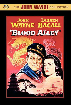 Blood Alley (DVD, 2007) [John Wayne & Lauren Bacall] New Sealed