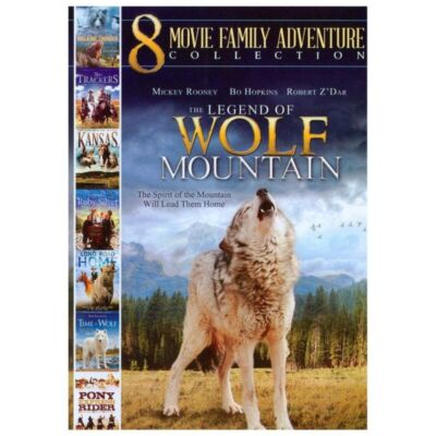 8-Movie Family Adventure Collection 3, Good DVD, ,