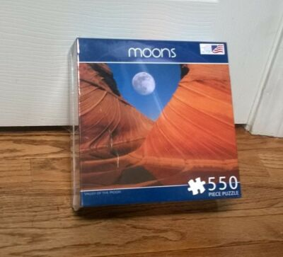 Valley of the Moon  550 piece puzzle  Brand New-Great American Puzzle Factory