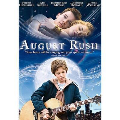 August Rush, Good DVD, Freddie Highmore, Jonathan Rhys Meyers,