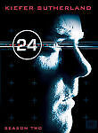 24 - Season Two, Good DVD, Kiefer Sutherland, Carlos Bernard, Reiko Aylesworth,