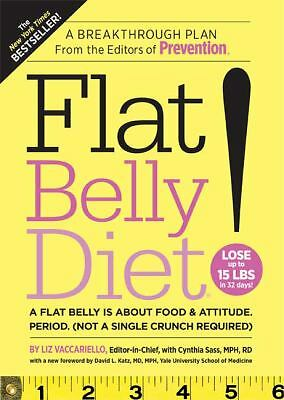 Flat Belly Diet!, Liz Vaccariello, Cynthia Sass, Good Book
