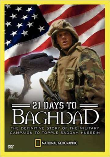 National Geographic - 21 Days to Baghdad, Good DVD, National Geographic,