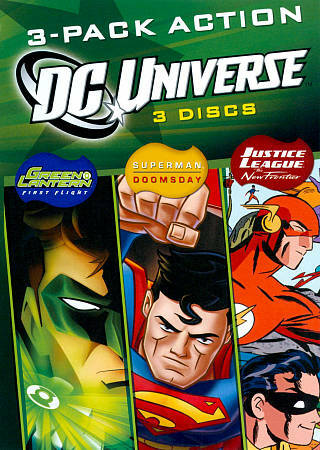 DCU Fun Pack (3-Disc/Triple Feature)