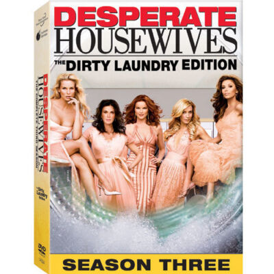 Desperate Housewives - The Complete Third Season, Good DVD, Teri Hatcher, Marcia