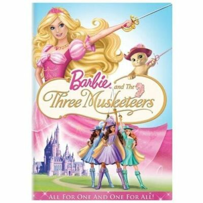 Barbie and the Three Musketeers, Good DVD, Barbie,