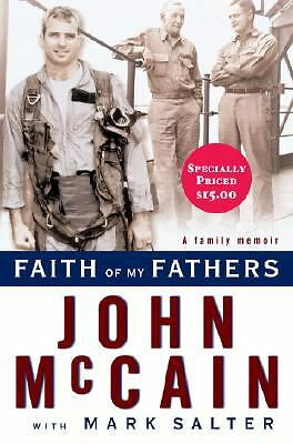 Faith of My Fathers, Salter, Mark, McCain, John, Good Book