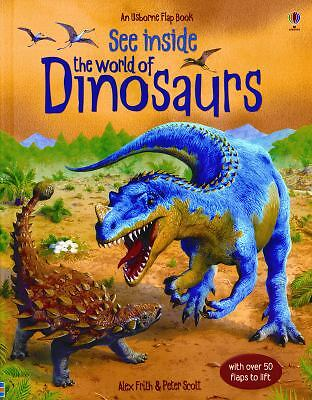 See Inside the World of Dinosaurs, Frith, Alex, Good Book