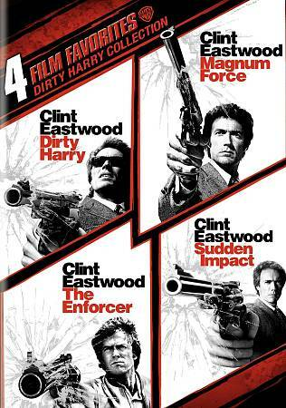4 Film Favorites: Dirty Harry (Dirty Harry: Deluxe Edition, The Enforcer: Deluxe
