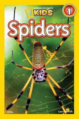 National Geographic Readers: Spiders, Marsh, Laura, Good Book