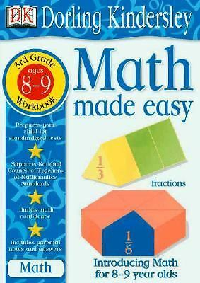 Math Made Easy: Third Grade Workbook (Math Made Easy): DK Publishing