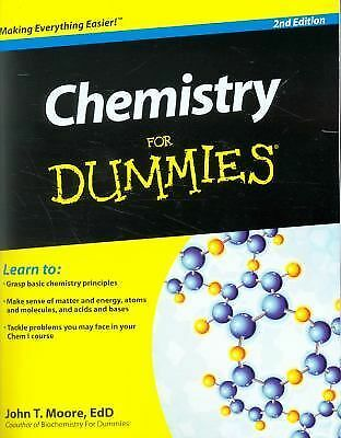 Chemistry For Dummies: Moore, John T.
