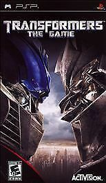 Transformers the Game - Sony PSP