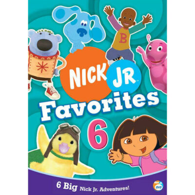 Nick Jr. Favorites - Vol. 6, Good DVD, ,