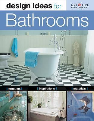 Design Ideas for Bathrooms, Susan Boyle Hillstrom, Good Book