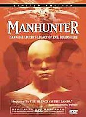 Manhunter (DVD, 2001, 2-Disc Set, Limited Edition Director's Cut) Brand New!