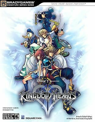 Kingdom Hearts II Official Strategy Guide Bradygames Signature Series)