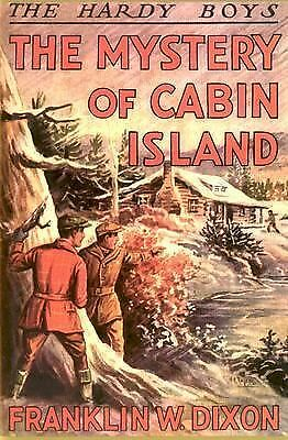 The Mystery of Cabin Island Hardy Boys, Book 8)