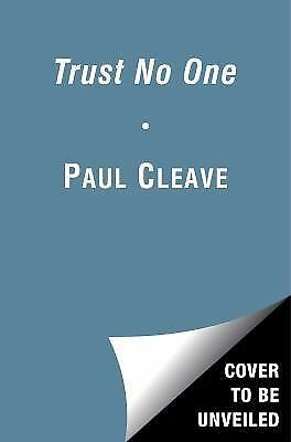 Trust No One by Paul Cleave (2015, softcover) ARC