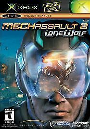 MechAssault 2: Lone Wolf Limited Edition, Good Xbox, Xbox Video Games