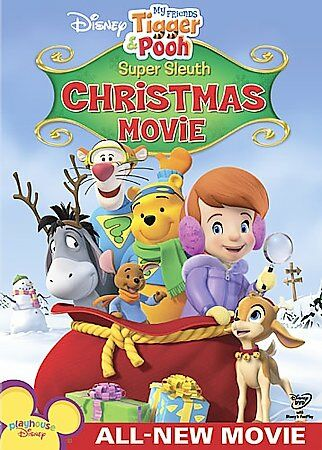My Friends Tigger & Pooh - Super Sleuth Christmas Movie, Good DVD, My Friends Ti