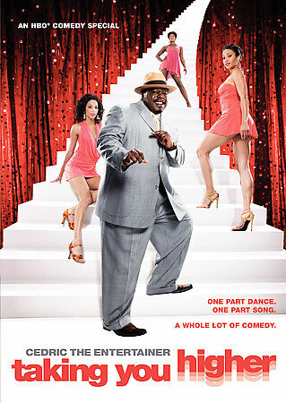 Cedric the Entertainer - Taking You Higher, Good DVD, Cedric The Entertainer,