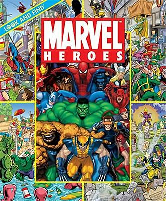 Look and Find: Marvel Heroes Look and Find)