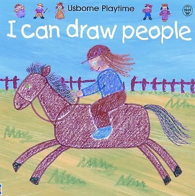I Can Draw People Usborne Playtime)
