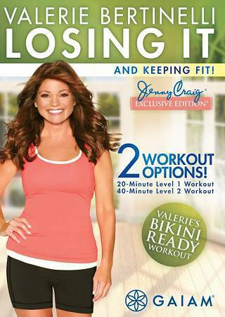 Valerie Bertinelli: Losing It And Keeping Fit, Excellent DVD, Valerie Bertinelli