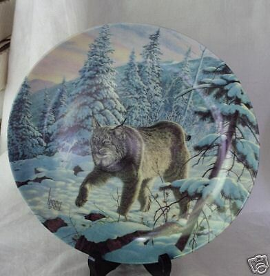 Lee Cable THE LYNX Great Cats of the Americas 3rd Porcelain Collector Plate