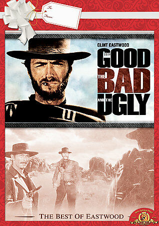 The Good, the Bad and the Ugly, Good DVD, Clint Eastwood, Eli Wallach, Lee Van C