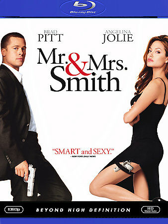 Mr. & Mrs. Smith [Blu-ray], Good DVD, Stephanie March, Michelle Monaghan, Rachae