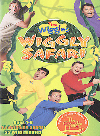 The Wiggles - Wiggly Safari, Good DVD, The Wiggles, Steve Irwin,